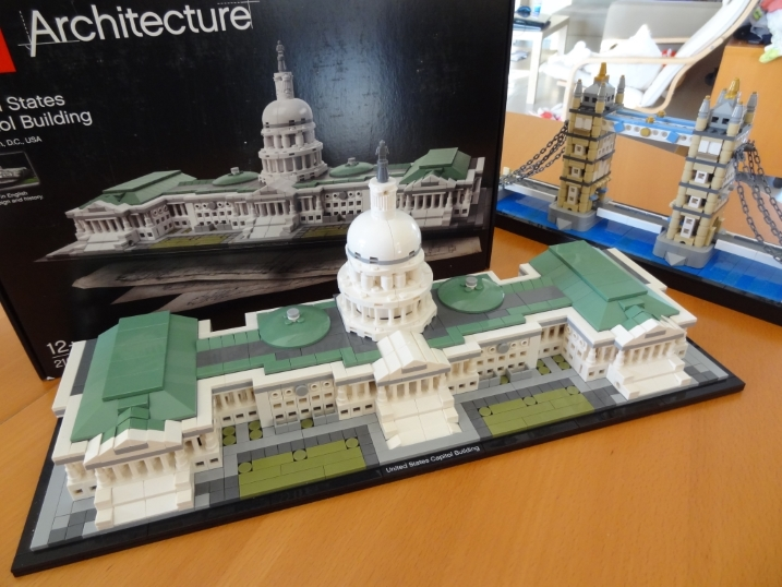 set architecture 21030: United States Capitol Building